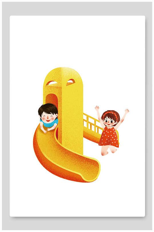 六一儿童节海报设计-众图网
