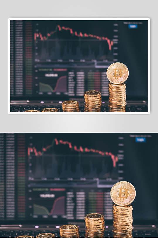 灰色金融股票期货走势图图片-众图网