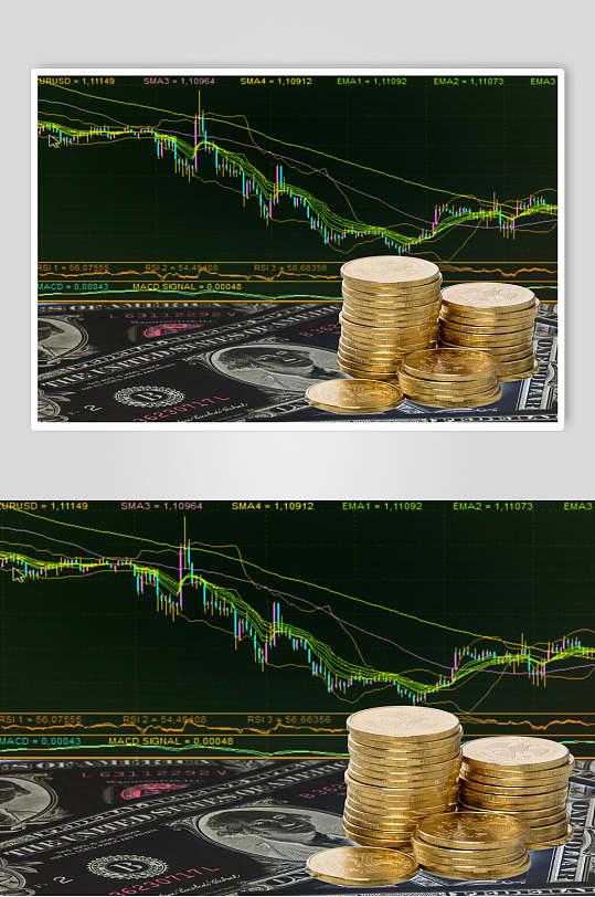 金融货币股票期货走势图高清图片-众图网