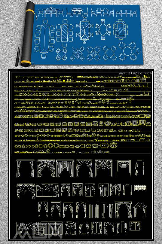 原创工装图库CAD图库-众图网