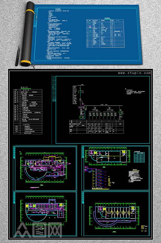 供电局电气CAD设计图-众图网