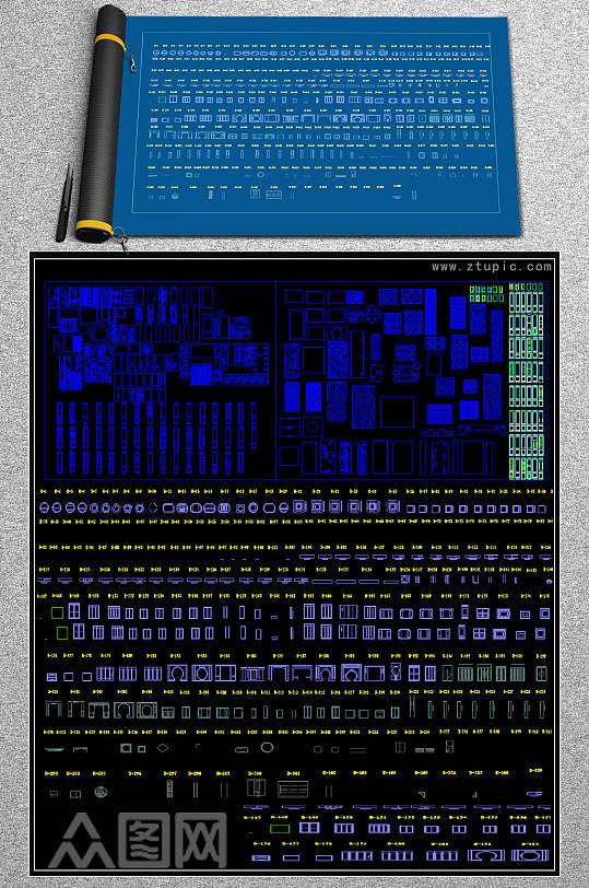 原创中式花格角花图集精选整理超全中式元素-众图网