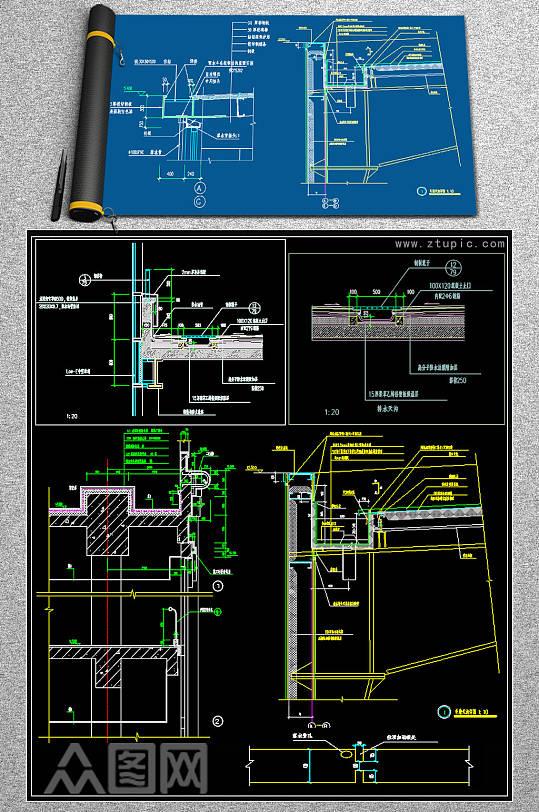 最新钢结构CAD样图-众图网