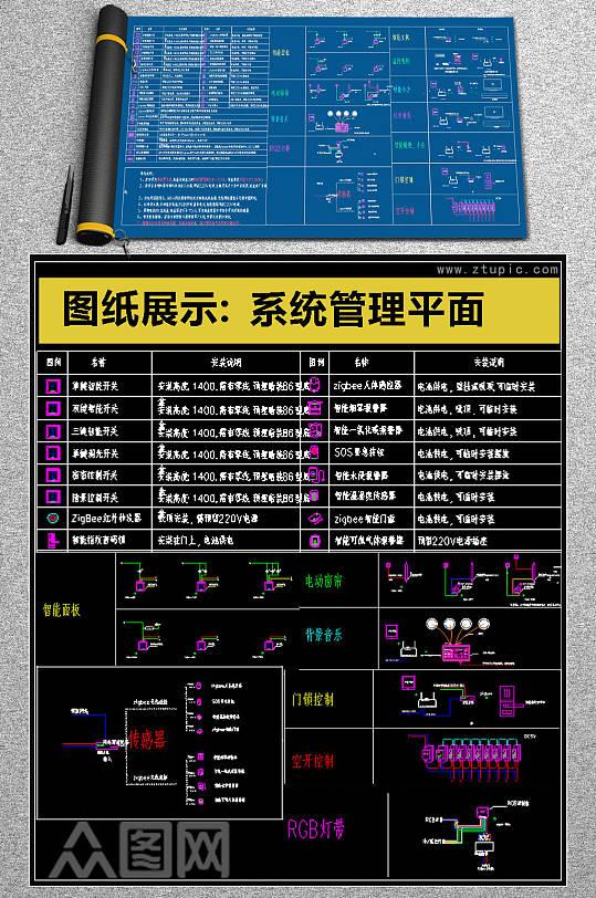精品家居系统CAD素材-众图网