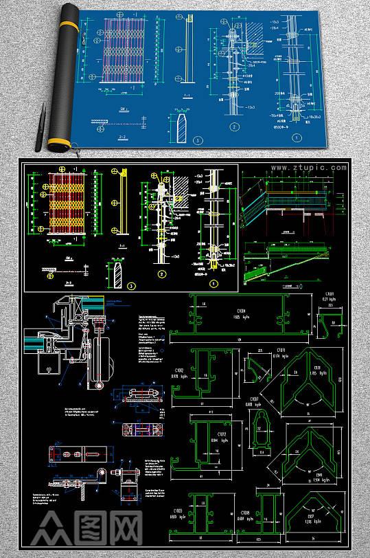 原创家装CAD图库-众图网