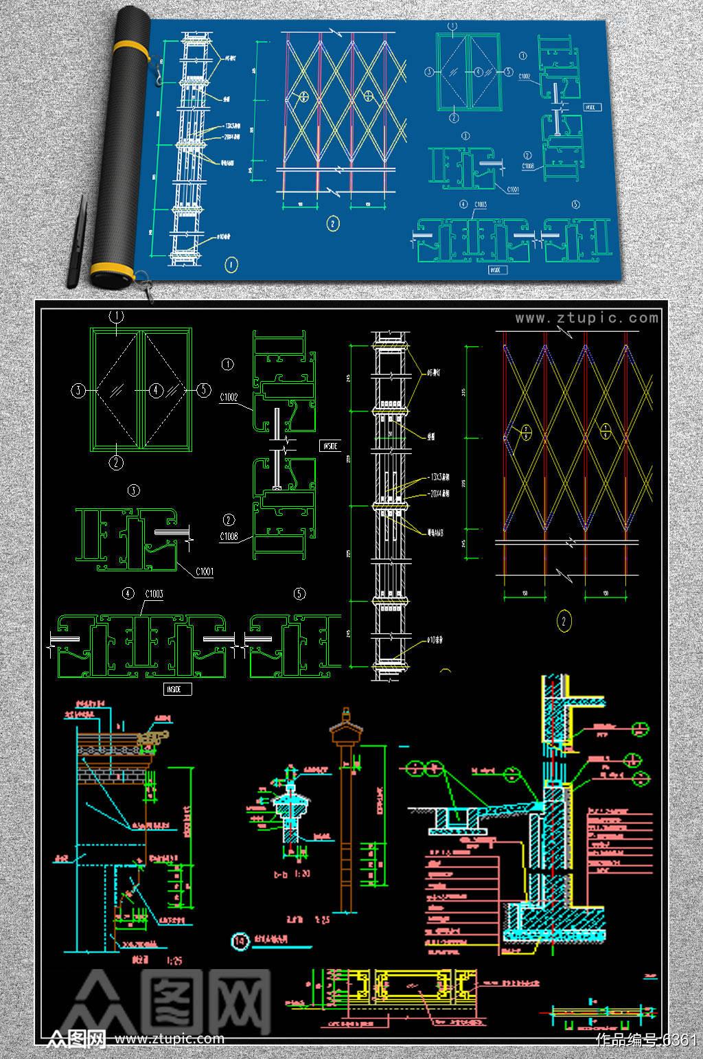 原创室内CAD设计素材