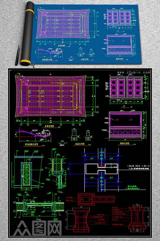 2019金属CAD素材-众图网