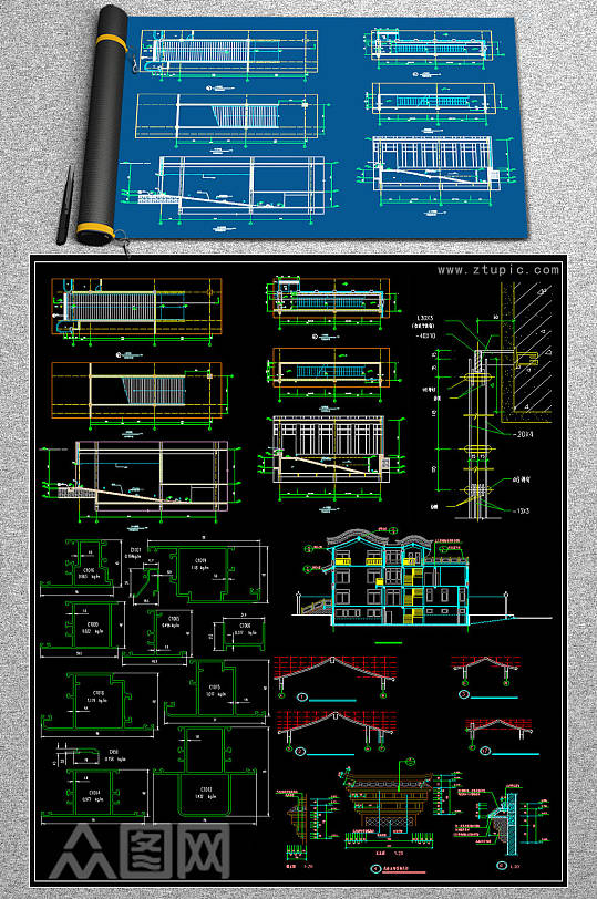 2019室内CAD素材-众图网