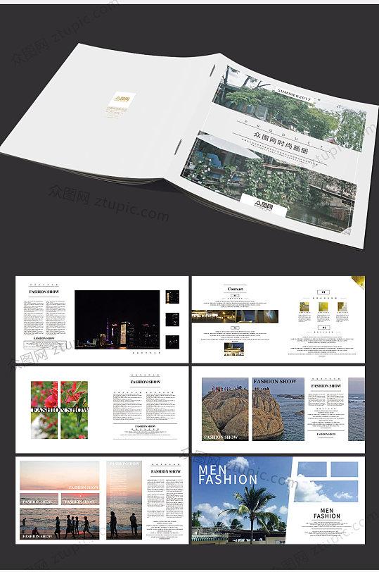 大气时尚商务整套画册-众图网