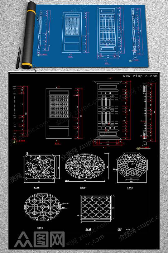 全套拼花CAD模块-众图网