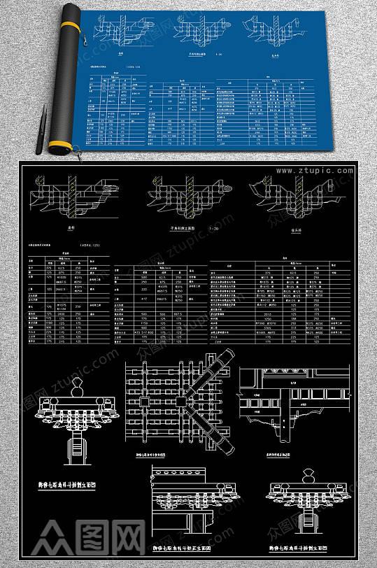 原创水刀拼花浮雕CAD图库-众图网
