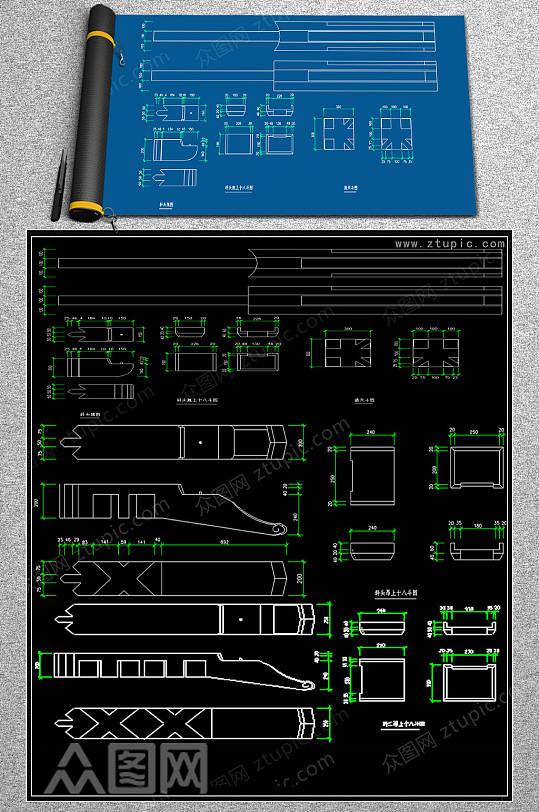 最新水刀浮雕CAD素材-众图网