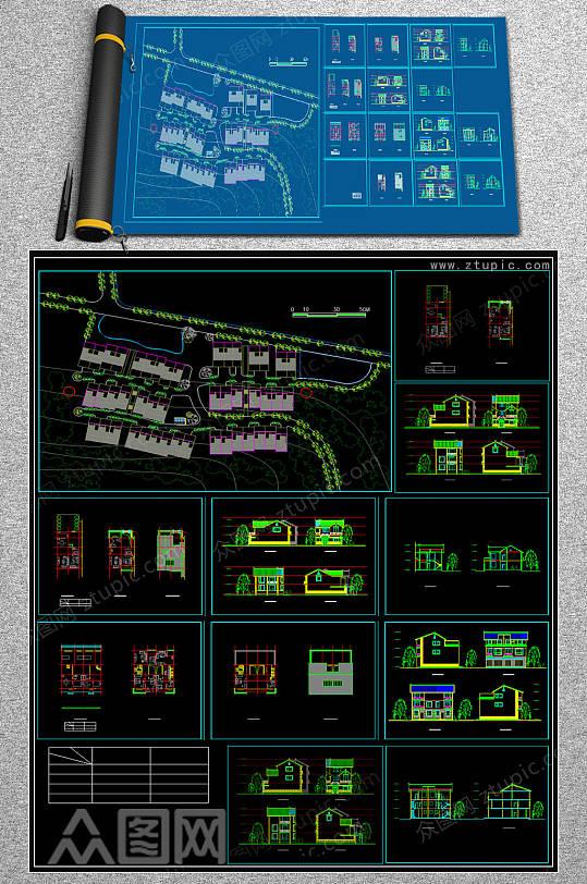 2019住宅CAD大全-众图网