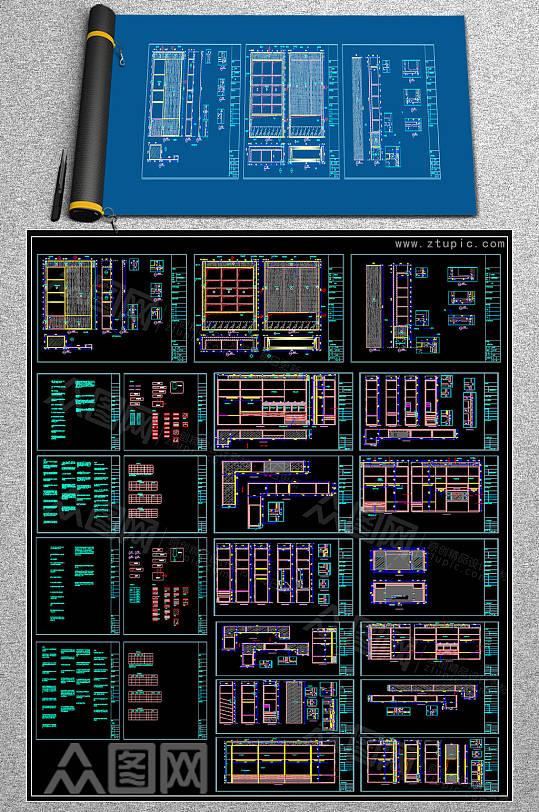 2019壁炉CAD大全-众图网