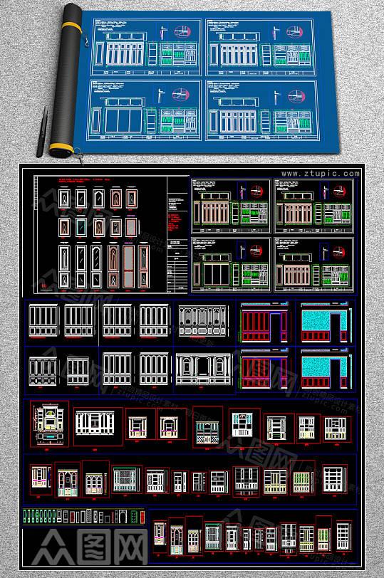 最全定制家具CAD合集-众图网