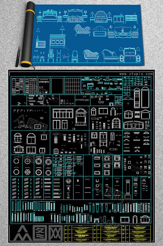 2019线性CAD大全-众图网
