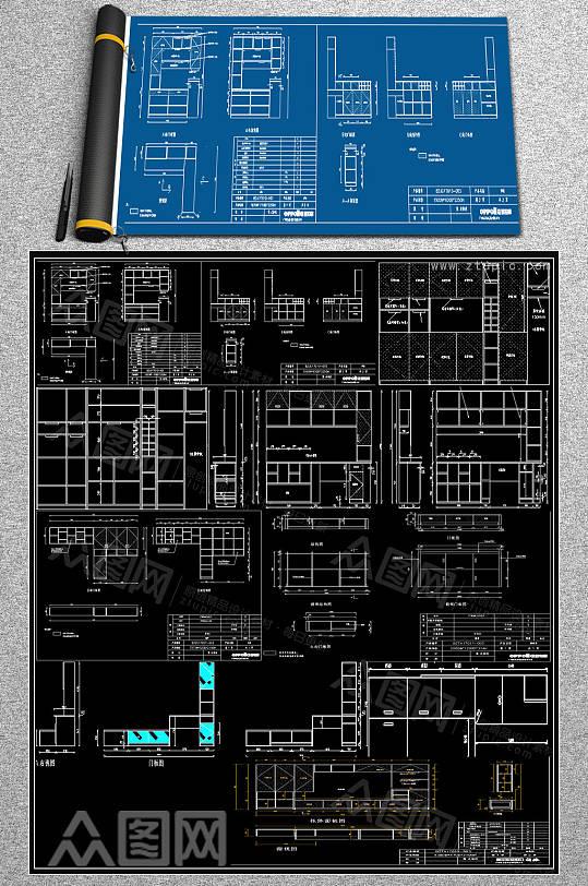 家装CAD大样图-众图网
