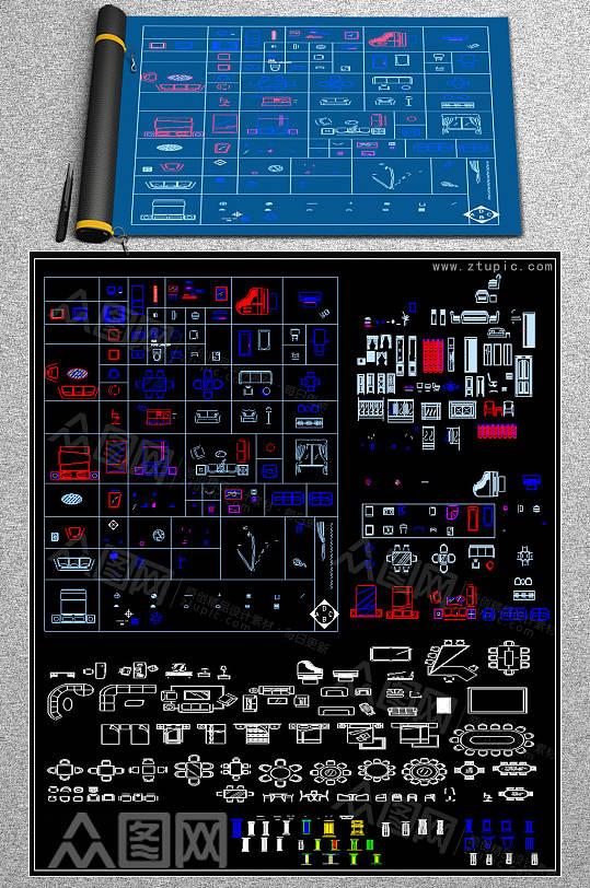 最新建筑CAD模板-众图网
