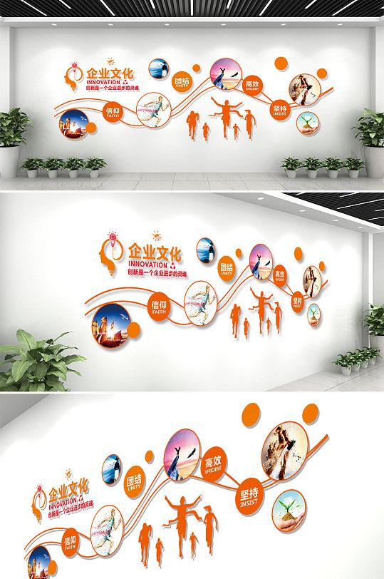 企业文化墙活动室照片墙-众图网