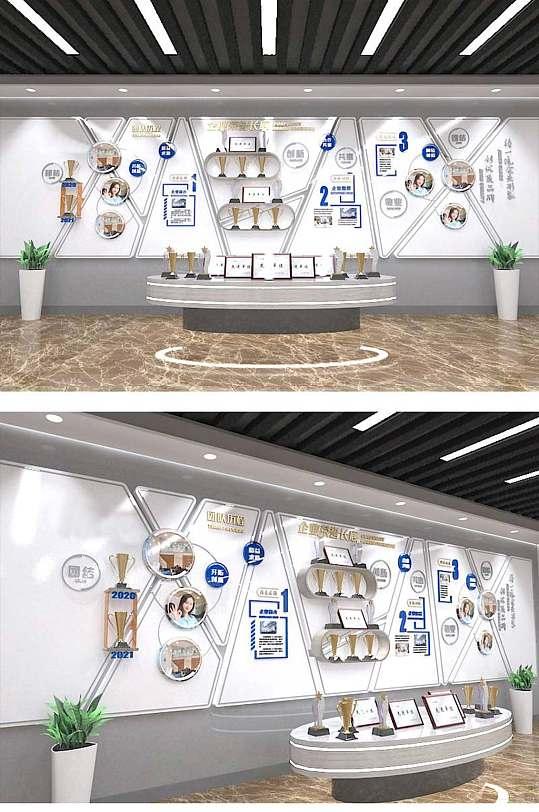 企业公司员工荣誉墙奖项墙团队文化墙-众图网