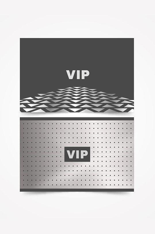 精品简洁酒店VIP订房卡模板设计-众图网