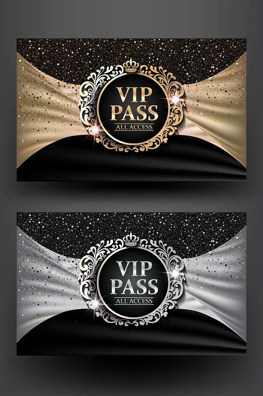 极品高端奢华酒吧VIP贵宾卡模板设计-众图网