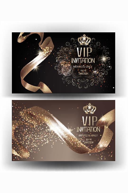 精品奢华VIP会员卡-众图网