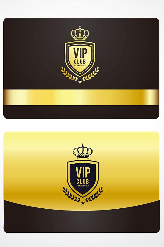 精品黑金VIP会员卡-众图网
