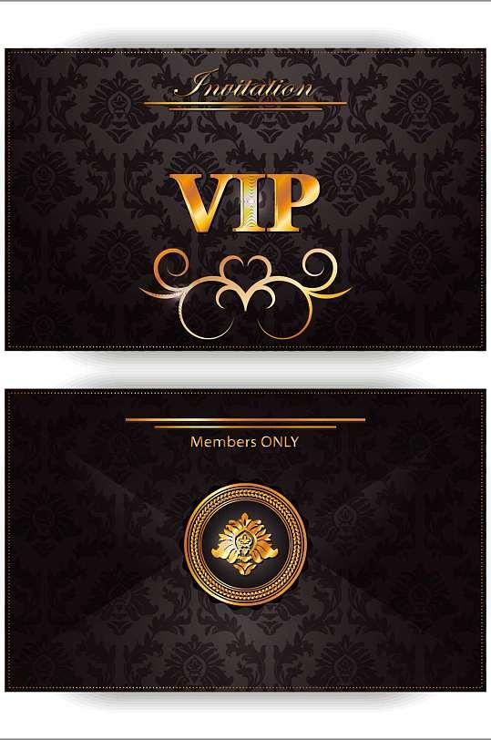 精品黑金VIP卡模板设计-众图网