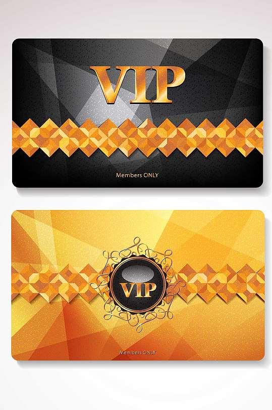 精品黑金VIP会员卡模板设计-众图网