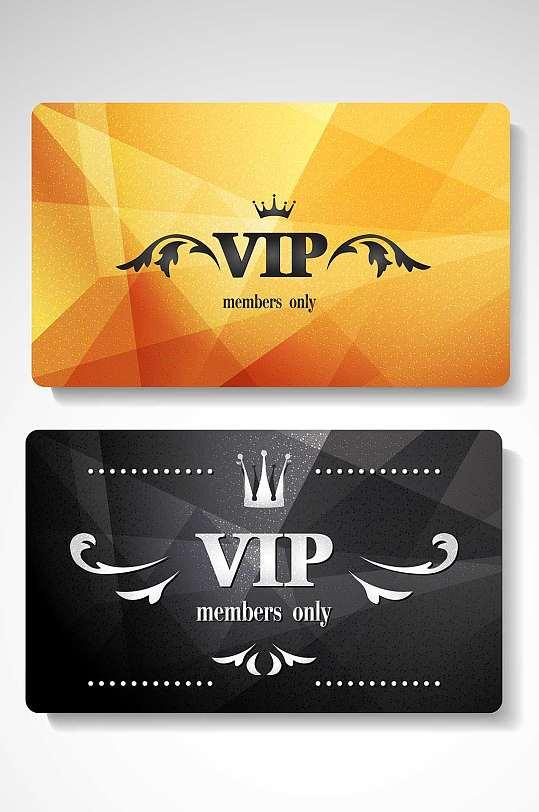 精品高端会员VIP卡模板设计-众图网