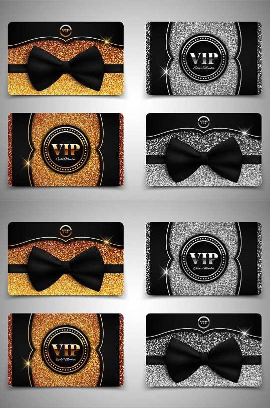 精品高端黑金VIP卡模板设计-众图网