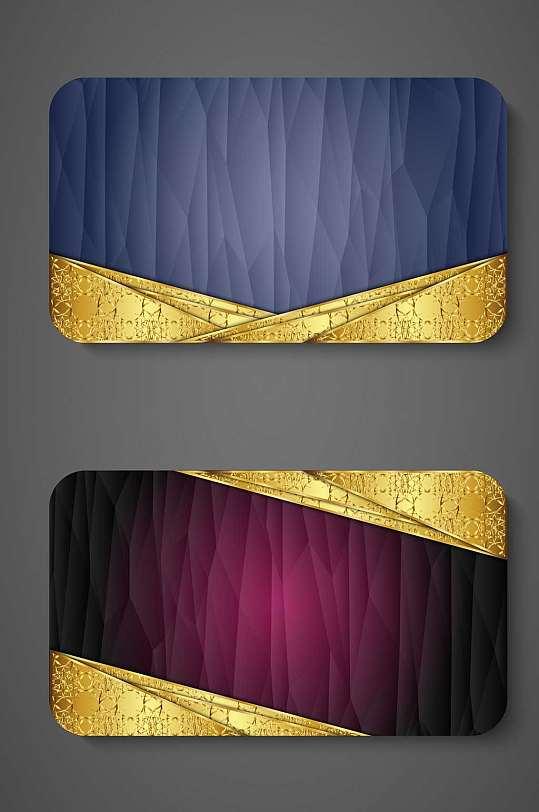精品奢华VIP卡背景模板设计-众图网