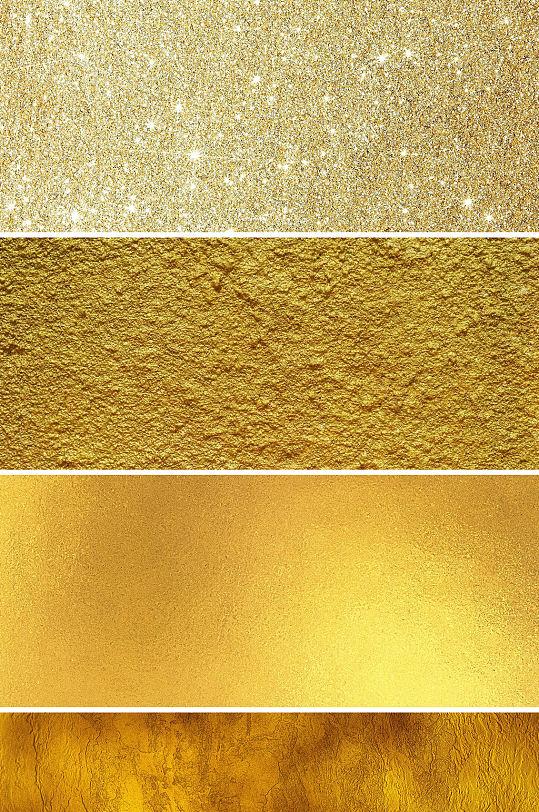 金色金箔纸背景金色粒子金属质感背景