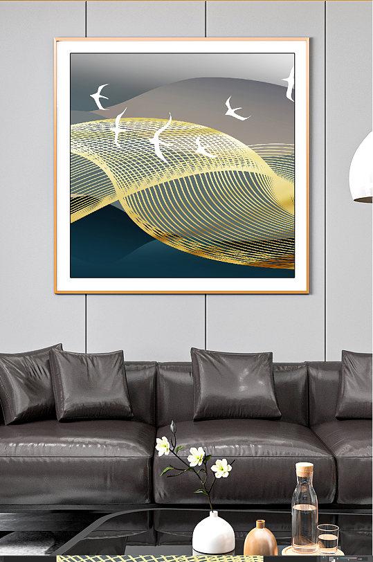 飞鸟高端晶瓷装饰画-众图网