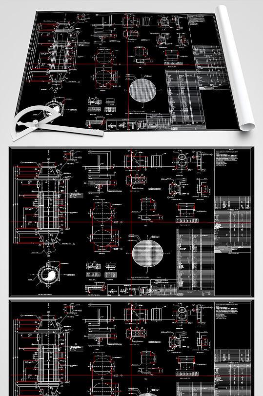 空气预热器CAD图纸-众图网