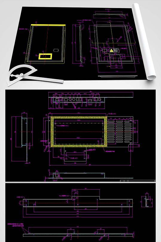 箱体CAD设计图-众图网
