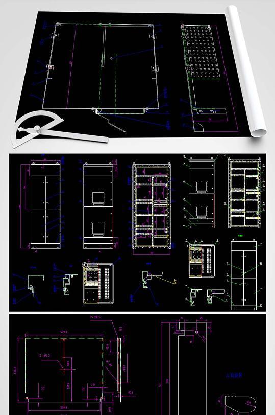 GCK壳体平面图-众图网