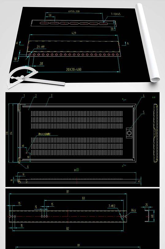 GGD电柜CAD图纸-众图网
