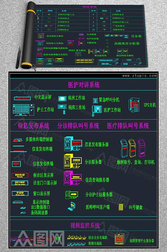 弱电智能化设计图库CAD素材-众图网