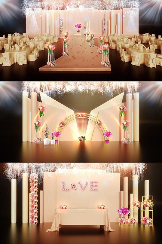 love婚礼效果图-众图网
