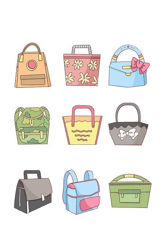 卡通生活用品包包购物袋-众图网