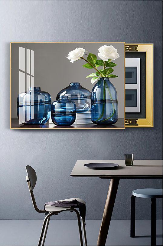轻奢玻璃花瓶电表箱-众图网