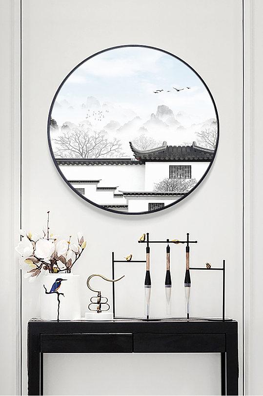 中式徽派建筑马头墙-众图网