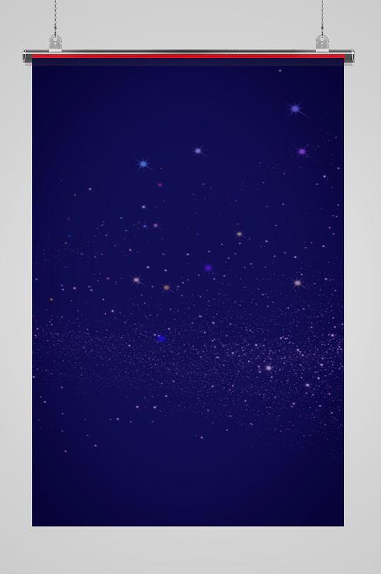 星空大气时尚背景-众图网