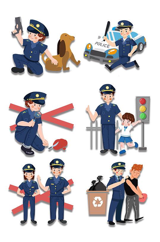 打击犯罪公安警察素材-众图网