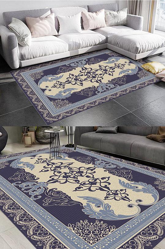 高端古典宫廷风格地毯图案-众图网